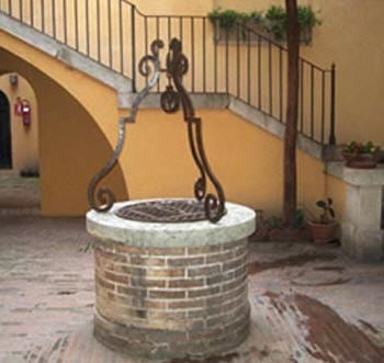 pozzo, casa di d'annunzio