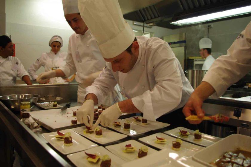 Villa S. Maria - chef al lavoro